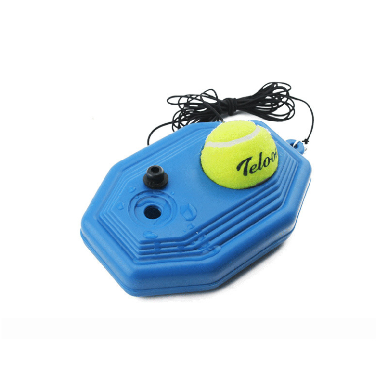 2015 New Tennis Trainning Practice Ball Base With Rubber Band Practice Any Place A1 C96(China (Mainland))