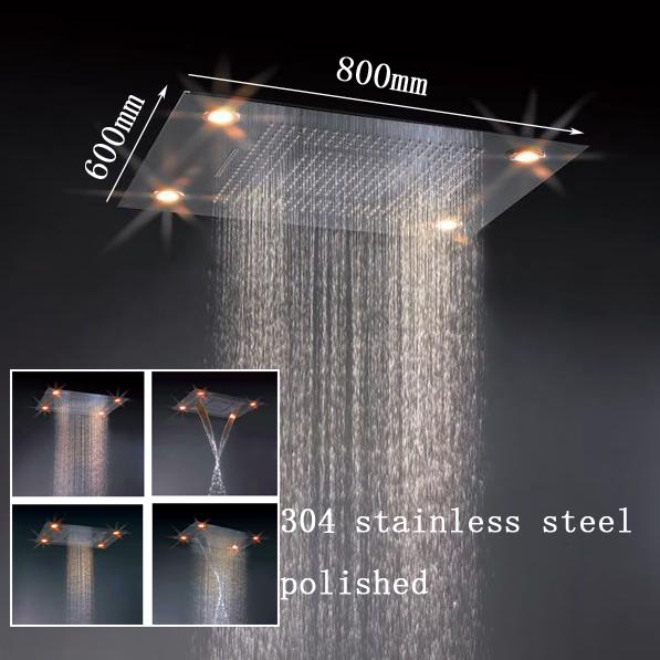 Led Dusche Decke : led-licht duschkopf eingebettete decke 5 Star International Hotel Led