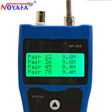Free Shipping Noyafa NF 308B Network Cable Tester Lan Tracker Wire tester Cable Locator RJ45 BNC