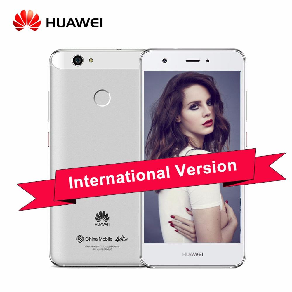 "Original Huawei Nova CAZ-TL10 5.0"" IPS FHD MSM8953 Android 6.0 4G TD LTE Smartphone 3GB RAM 32GB ROM 12MP Touch ID Glonass(China (Mainland))"