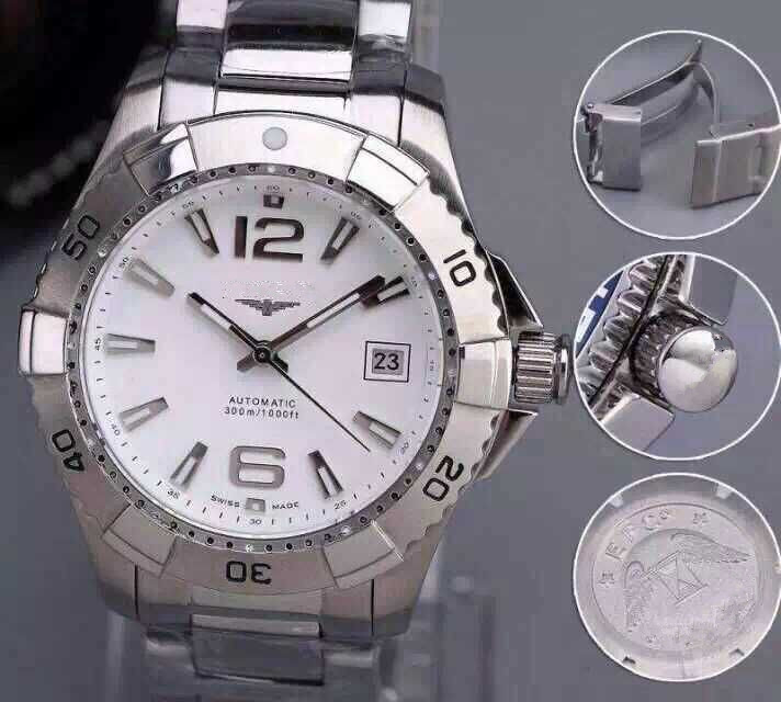 HOT sale brand HIGH quality 9015 movement watch mechanical stainless steel watches sapphire glass(China (Mainland))