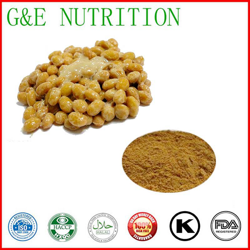 Natural  Natto Extract,  Natto Seed P.E.10:1 500g/lot<br><br>Aliexpress