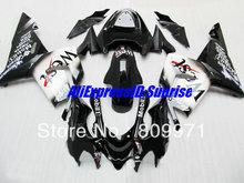 Buy K284 WEST White black Fairing kit KAWASAKI Ninja ZX10R 04 05 ZX-10R 2004-2005 ZX 10R 2004 2005 Fairings set+7gifts for $337.59 in AliExpress store