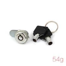 Cabinet Toolbox Safe Drawer 10mm Keyed Tubular Cam Lock Replacement(China (Mainland))