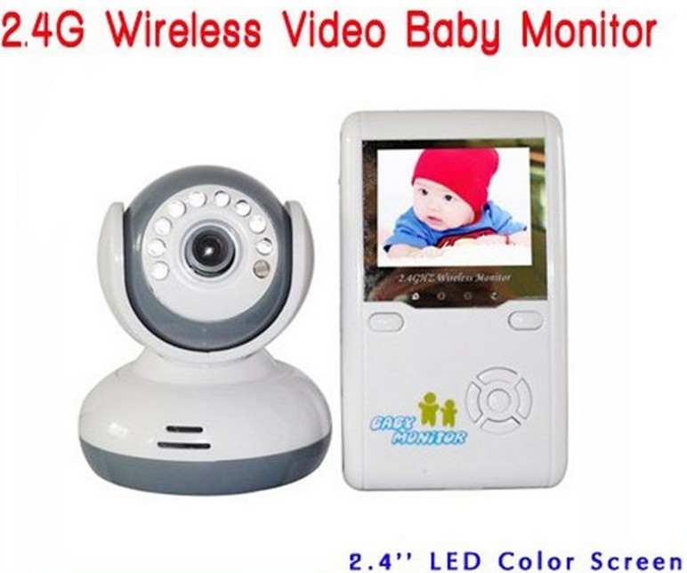 """Electronic 2.4""""TFT Wireless Digital Baby Monitor IR Video Talk one Camera Night Vision video Electronic Baby Monitors()"""