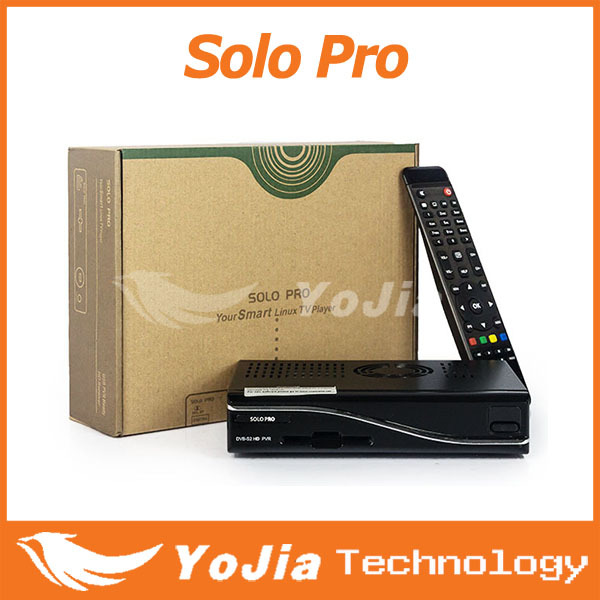 1pc Solo Pro Satellite Receiver Linux System Enigma 2 Mini Solo with CA card sharing Youtube IPTV free shipping post(China (Mainland))