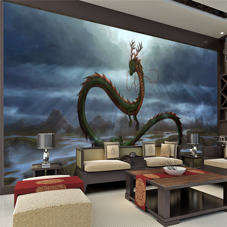 Dragon bedroom wallpaper for Decor mural 3d