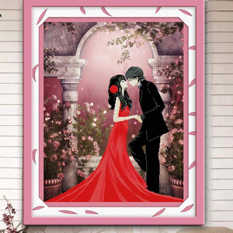 Гаджет  3D Stitch bedroom newest married life edge stitch stitch festive wedding wedding stamp series None Изготовление под заказ
