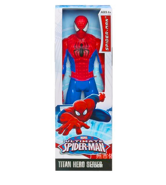 "30CM 12""  Amazing Spider-Man Movie Spiderman Ultra Hero Series Official Action Figure Toys  Retail Box T-018"