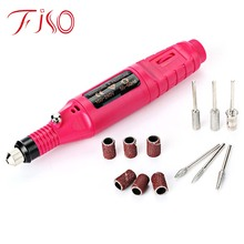 Buy EU/US/UK PLUG Electric Manicure Drill & Accessor Nail Grinding Machine Nail Tools Pen Type Nail Care Electric Grinding Machine for $6.95 in AliExpress store