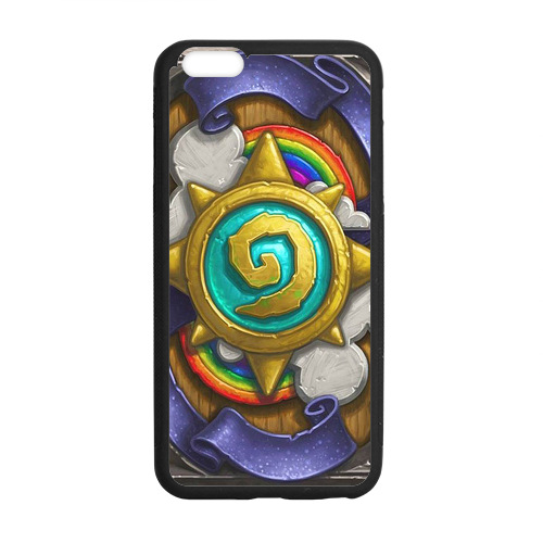 Hearthstone t Logo 2 custom hard plastic mobile cell phone bags case cover for iphone 4 4s 5 5s 5c 6 plus(China (Mainland))