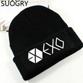 Popular fashion POP GROUP EXO Street hip hop skateboard knitted hat ball cap jacquard wool hat