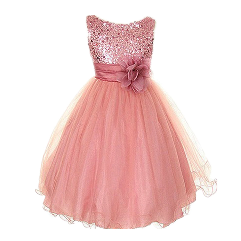 Onsale Handmade Sequins Flower Girl Dresses for Weddings With Exquisite Sash Flowergirl Little Girls Pageant Birthday Gowns free(China (Mainland))