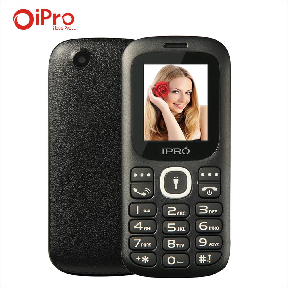 Original IPRO I3185 Dual SIM Unlocked Mobile Phones GSM SC6531DA 1.77 Inch Bluetooth Cell Phone With English Spainish Language(China (Mainland))