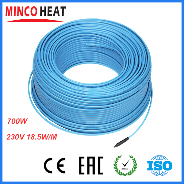 37m Floor Heating Cable 220v Heated Floor Heating Warm Floor(700w)<br><br>Aliexpress