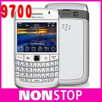 9700 Original BlackBerry Bold 9700 Cell Phone 3G GPS WIFI QWERTY Camera 3.2MP Refurbished