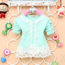 Блузки  от La enfant для Девочки, материал Спандекс артикул 32284051496