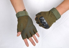 2015 tactical gloves army outdoor training mens half finger gloves climbing bicycle antiskid sports workout gym