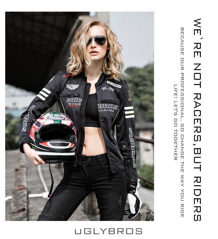 Race Car Jackets >> Package freight Uglybros car race car race clothing jacket women clothing motorcycle jacket ...