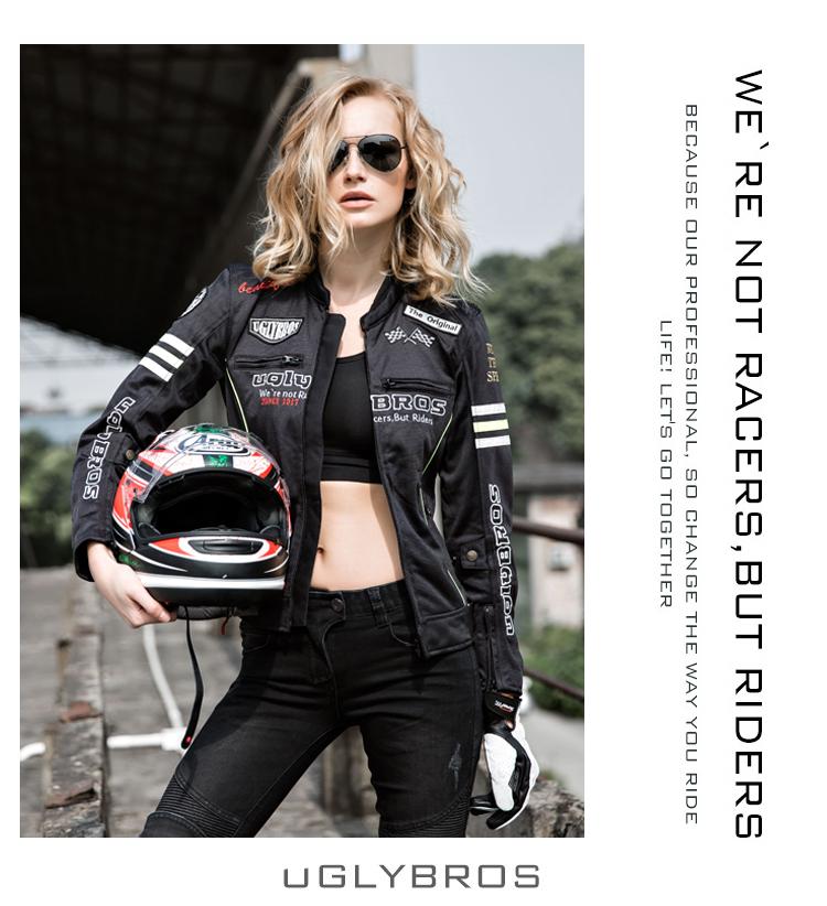 Race Car Jackets >> Package freight Uglybros car race car race clothing jacket women clothing motorcycle jacket ...