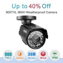 SANNCE 900TVL Haute résolution CCTV Caméra Ir 24Led Heure Jour/Nuit Vision IP66 Extérieure Bullet vidéo Surveillance Caméra(China (Mainland))