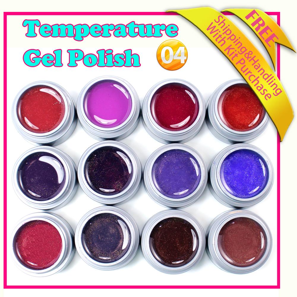 2015 new fashion uv nail gel color Change Nail Art...