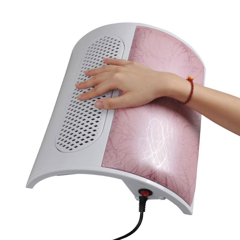 220V/110V Nail Dust Collector Equipment Nail Art Three Fans Vaccum Cleaner Nail hand Rest Salon Home Use Nail Tool(China (Mainland))