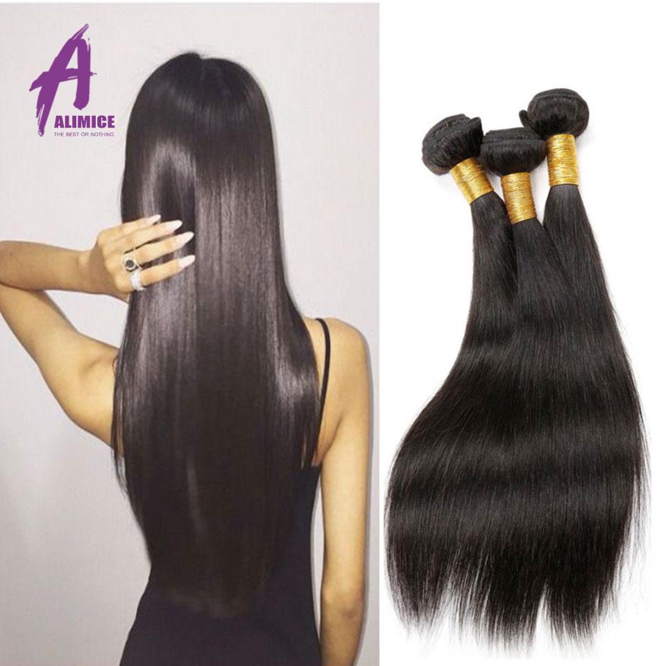 Cheap 8A Peruvian Virgin Hair Straight 3 Pcs lot Unprocessed Virgin Straight Hair bundles Peruvian human hair weave 8-30 inch<br><br>Aliexpress