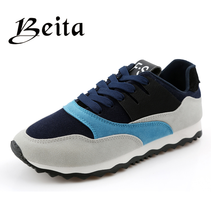 2016 fashion comfortable running shoes,quality brand men athletic shoes suede sneakers free run sport shoes for men(China (Mainland))