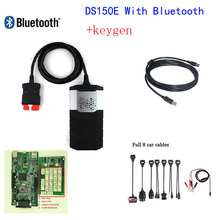 ds150e with keygen with bluetooth for delphi obd obd2 obdii diagnostic scanner tools tool with nec relays+8 pcs car cable(China (Mainland))