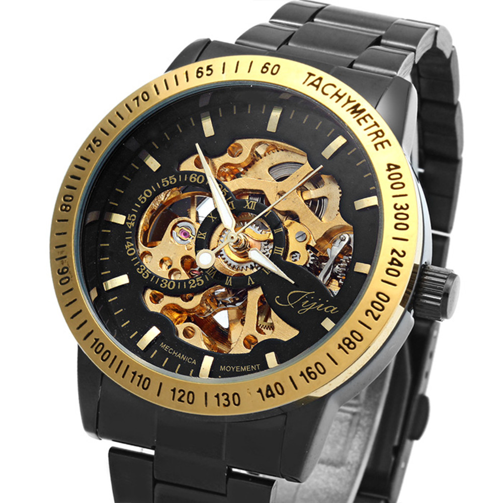 popular lucky brand mens watches buy cheap lucky brand mens hot luxury brand men retro automatic mechanical watch male hollow skeleton tungsten steel band wristwatches