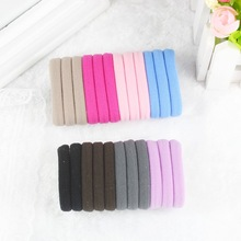 TS 10pcs lot Candy Colored Hair Holders High Quality Rubber Bands Hair Elastics Accessories Girl Women
