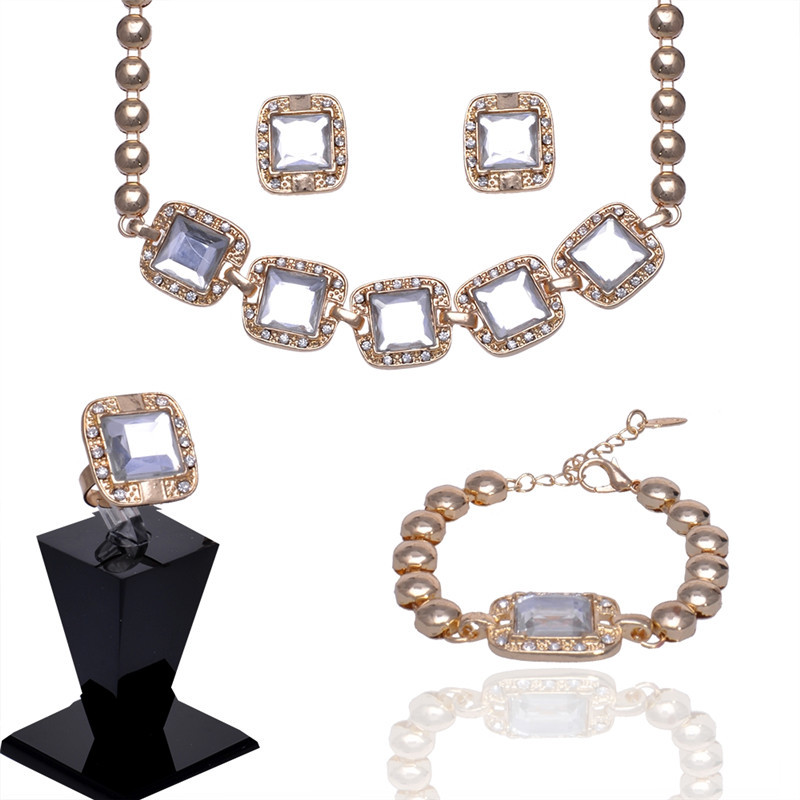 Buy big hot sell crystal square pendant for Wholesale 14k gold jewelry distributors