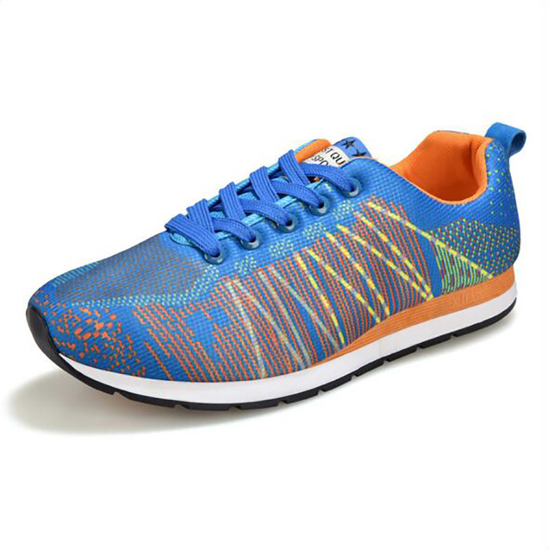 2016 spring men for running and sports on outdoors hard court Fly line knitting low cut free ankle comfortable and breathable 34<br><br>Aliexpress