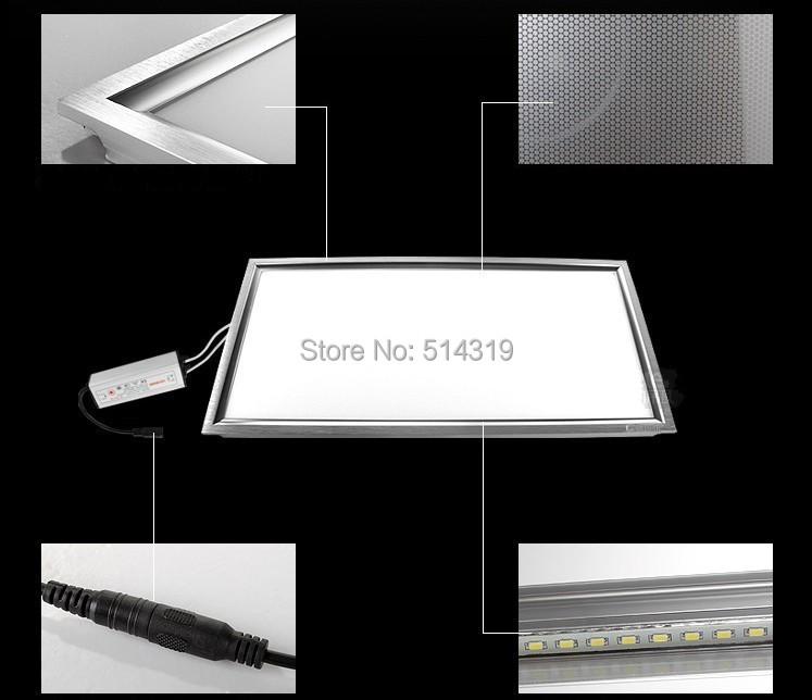 light fixtures surface mount led panel light 600x300 60x30 25w gentle light sqaure panel for. Black Bedroom Furniture Sets. Home Design Ideas