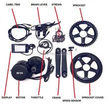 2015 brand new 48v 750w 8fun/bafang motor C961 LCD BBS-02  for the controller crank Motor eletric bicycles trike ebike kits(China (Mainland))