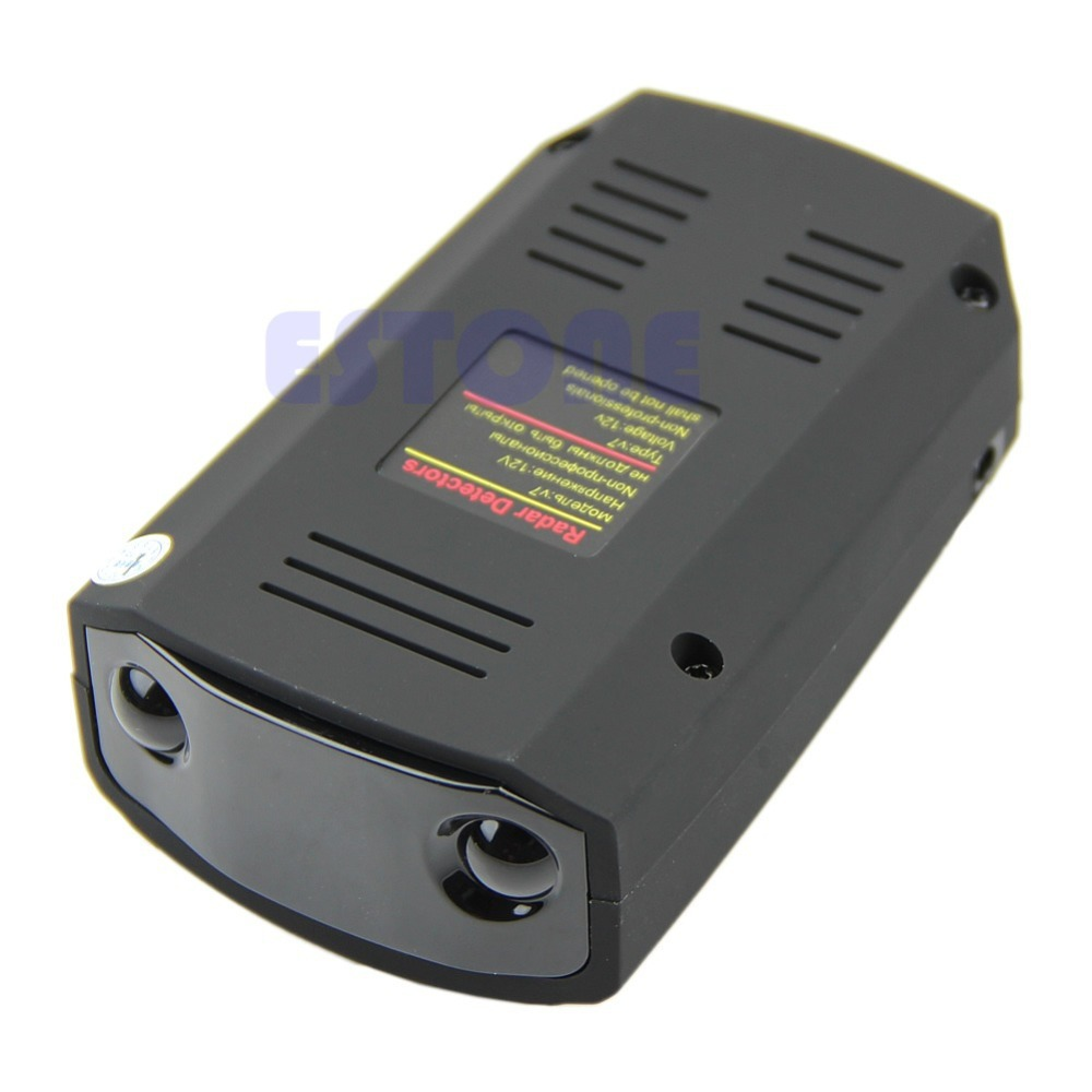 Free Shipping 360 Degree Car Speed Limited Detection Voice Alert Anti Radar Detector With Red