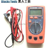 Envío gratis negro herramientas multímetro digital, multímetro Digital nuevo molde HR-200