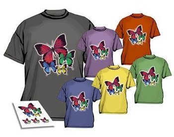 Wholesale Free Shipping 100pcs/lot Inkjet Dark Colour Heat Iron On T Shirt Transfer Paper A4 Size