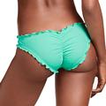 Ladies Female Swimwear Thong Bottom Brazilian Swimsuit Biquini Ruffled Briefs Plus Large Size Cheeky Bikini Bottom