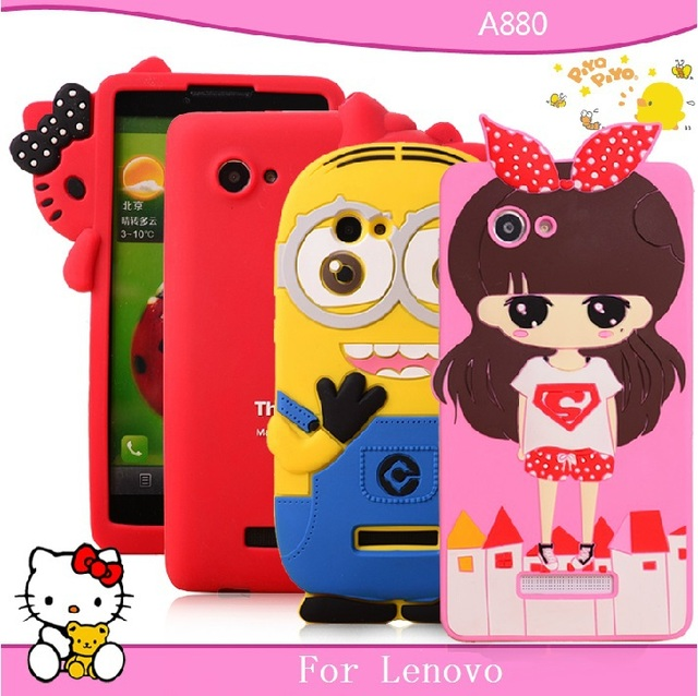 For Lenovo s880 mobile phone case for Lenovo s880i protective case silica gel sets soft shell