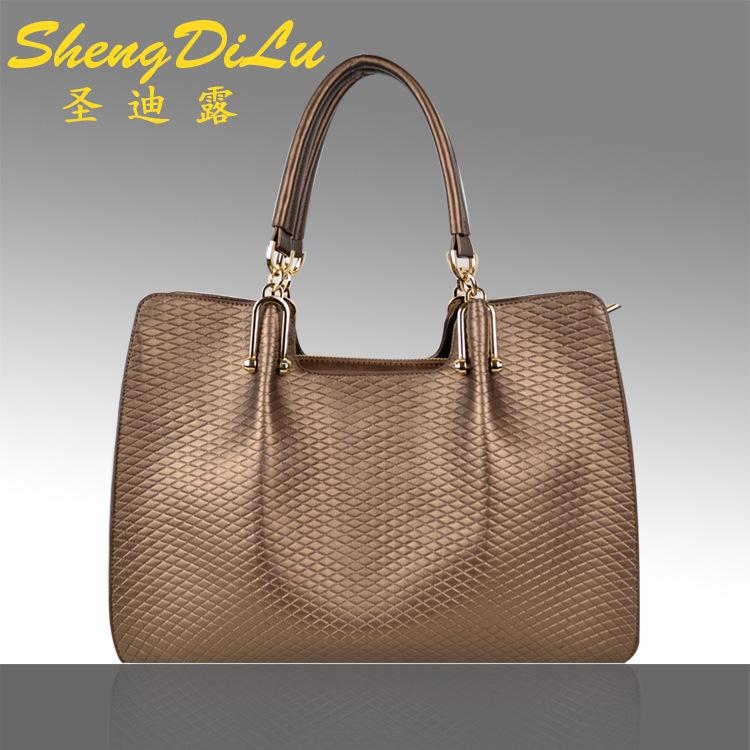 UniCalling women brand handbags2014 explosion models in Europe and America big bag Taobao burst models leather handbags handbag<br><br>Aliexpress