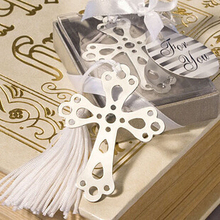 Wholesale hot selling new arrival    Cross Love Silver Metal Bookmarks  for Wedding High quality  Pakage Wholesale   for school(China (Mainland))