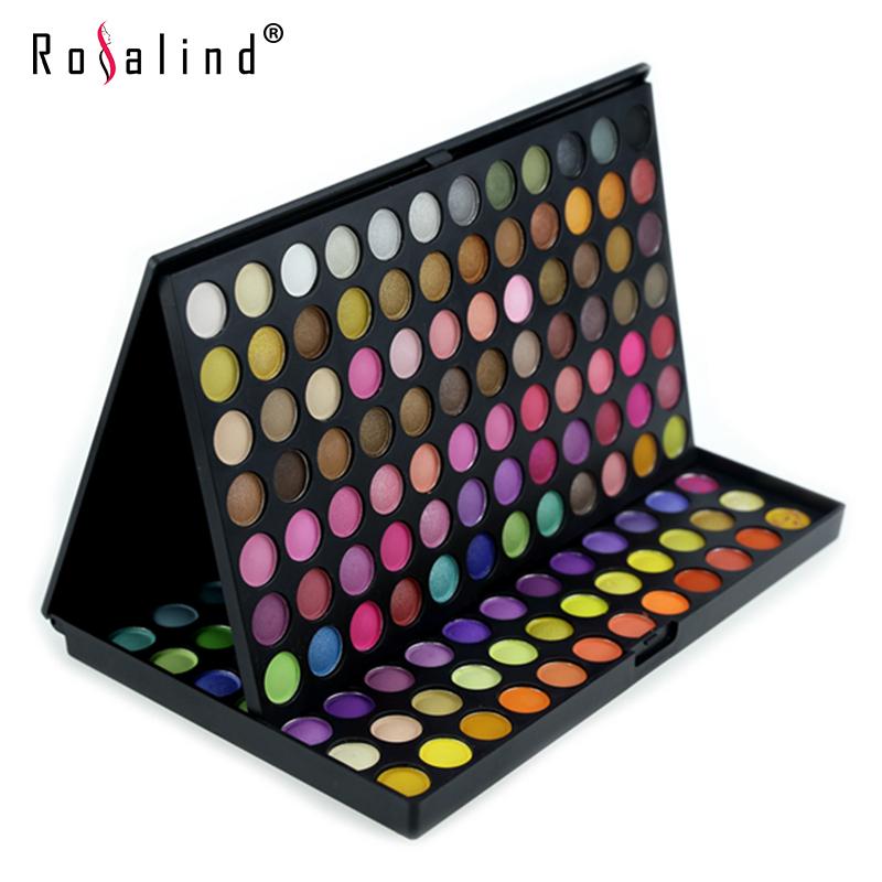Rosalind Professional Eyes Makeup 168 Color Eyeshadow Eye Shadow Mineral Makeup Make Up Palette Set E168#2(China (Mainland))