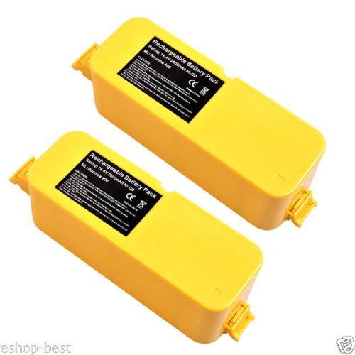 2x Vacuum Cleaner Battery for iRobot Roomba 400 405 410 415 416 418 4100 4210 US(China (Mainland))