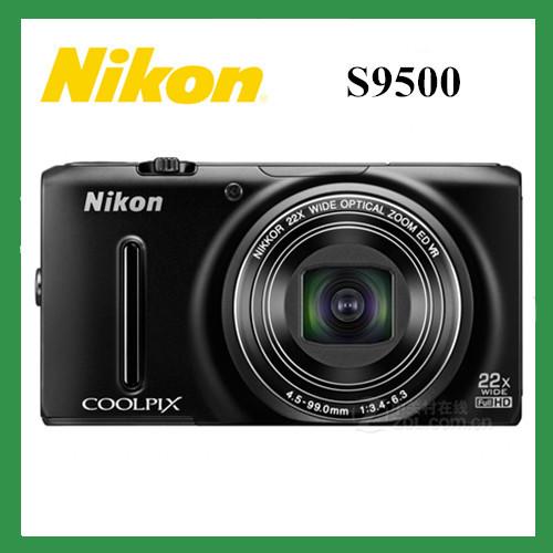 Original Nikon COOLPIX S9500 GPS+WIFI 22x Optical Zoom 18.1 MP Digital Camera nikon Multilingual(China (Mainland))