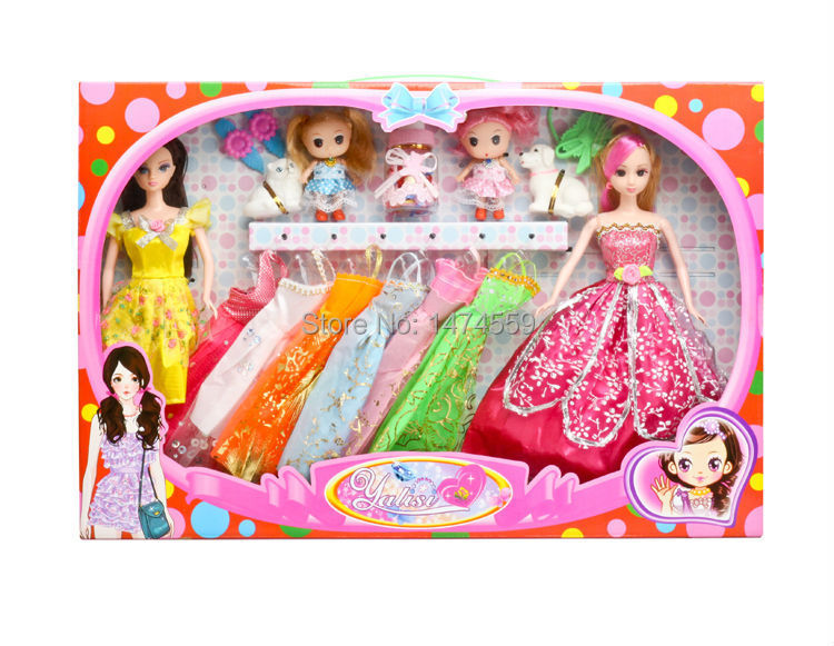 Barbiee doll brinquedos meninas banecas barbiee dresses gadget interactive doll confused doll little Kelly ever after high winx(China (Mainland))