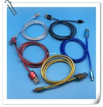 Micro Data Sync Mobile Phone Charging USB Cable Wire For Android