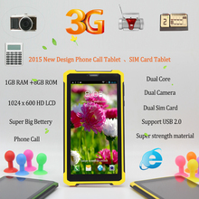Strong New Design 7 inch Tablet Pc 1GB 8GB 2 SIM Card 2G 3G Phone call Dual Core Support USB 2.0 7 8 9 10 inch android tablet