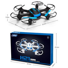 2016 3D LED 2.4GHz JJRC H21 6CH Headless Mode One Key Return RC Dron Quadcopter Newest Mini Drone helicopter RTF Return Gyro